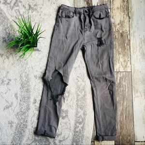 Urban Outfitters BDG Gray Distressed Jeans